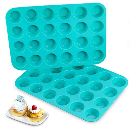 24 Mini -Silicone Muffin Pan