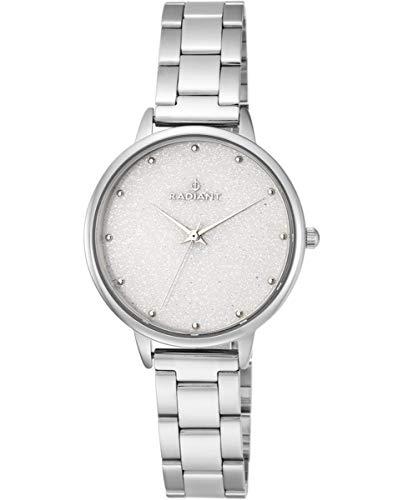 Reloj analógico para Mujer de Radiant. Colección Meteorito. Reloj Plateado con Brazalete. 3ATM. 36mm. Referencia RA472203.