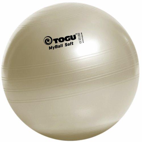 TOGU My-Ball Soft - Pelota para Fitness perlweiss Talla:75cm