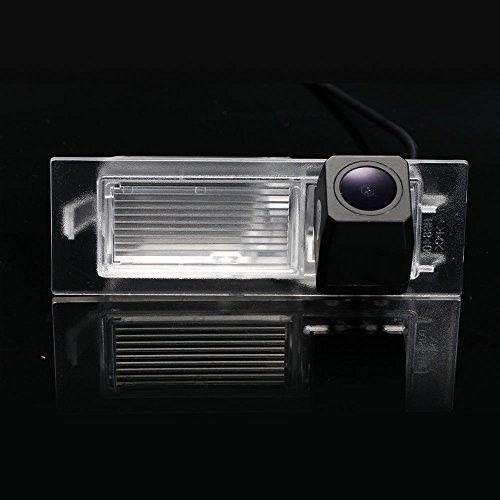 Greatek Caméra de recul voiture IP67 étanche couleur haute définition grand angle de visionnement avec plaque d'immatriculation vision nocturne pour 2015-2016 Renegade