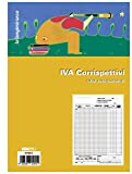 EDIPRO - E2104A - Registro prima nota IVA corrispettivi 13x2 autoricalcante f.to 29,7x22,5