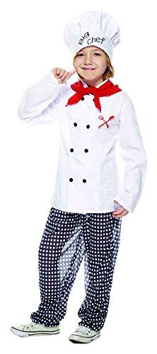 Disfraz para niños de chef. Talla – L