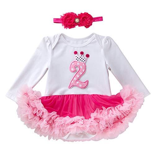 Marlegard® meisjesjurk met tutu-rok en haarband voor de 2e verjaardag