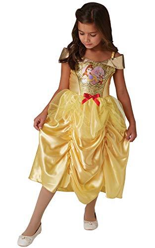 Rubies 641033 - Disfraz de princesa Disney con lentejuelas, para niños de 9 a 10 años, altura 140 cm, niñas, multicolor