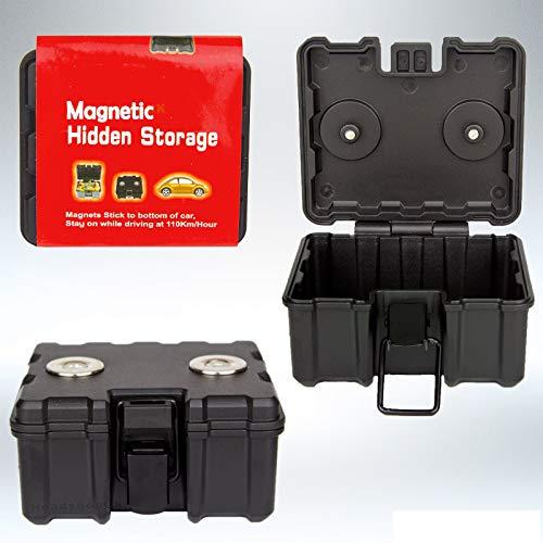 Magnetische versteckte Aufbewahrungsbox für Auto, mittelgroß