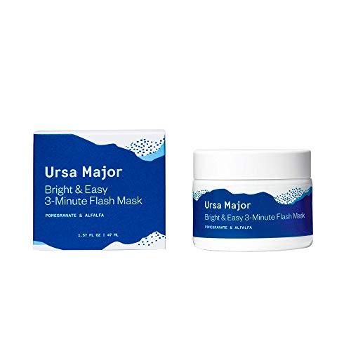 Ursa Major Natural Face Mask | Exfoliates, Brightens and Clarifies Skin | Vegan, Cruelty-Free, Non-Toxic (1.57 fluid ounces)