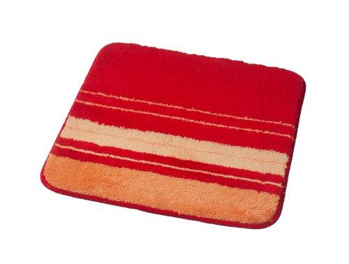 Ridder 7138060-350 Singapur Tapis de WC sans Découpe Polyacrylique Rouge 55 x 50 cm