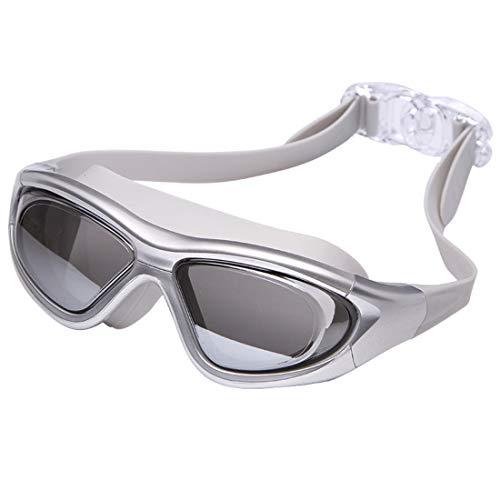 Fusanadarn Veiligheidsbril, waterdicht en beslaat niet, voor volwassenen, grote montuur voor vrouwen en mannen.