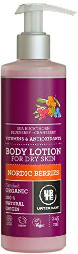Urtekram Nordic Berries Body Lotion, Organic, with Vitamints and Antioxidants, 245 ml, 875120
