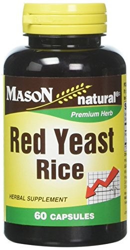 Mason Natural, Red Yeast Rice 1200, 60 Capsules