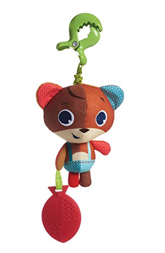 Brinquedo Jitter Isaac Tiny Love - Into the Forest, Multicor