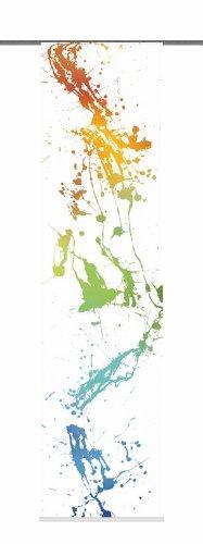 Home Fashion Blanca Tenda a Pannello, Poliestere, Multicolore, 245 x 60 cm