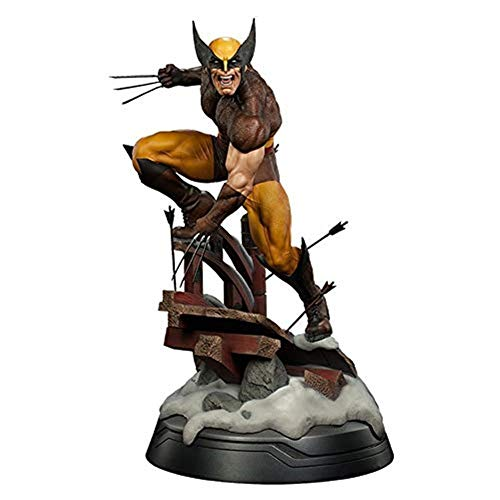 Modelo De Juguete X-Men, Figura Milagrosa Downing Wolverine 1/6 Logan PVC Toy 10'26 Cm