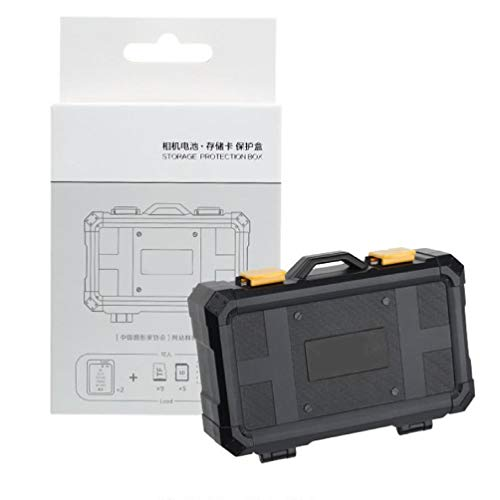 Sara-u - Funda de protección para cámara LP-E6 LP-E8 LP-E12 LP-E17 NB-13L EN-EL15 EN-EL14 A/V TV Videojuego Cable
