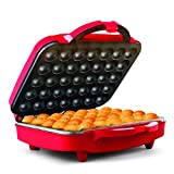 Holstein Housewares HF-09035R-PK1 Cake Pop Maker, 13 x 5.11 x 13 inches, Red...