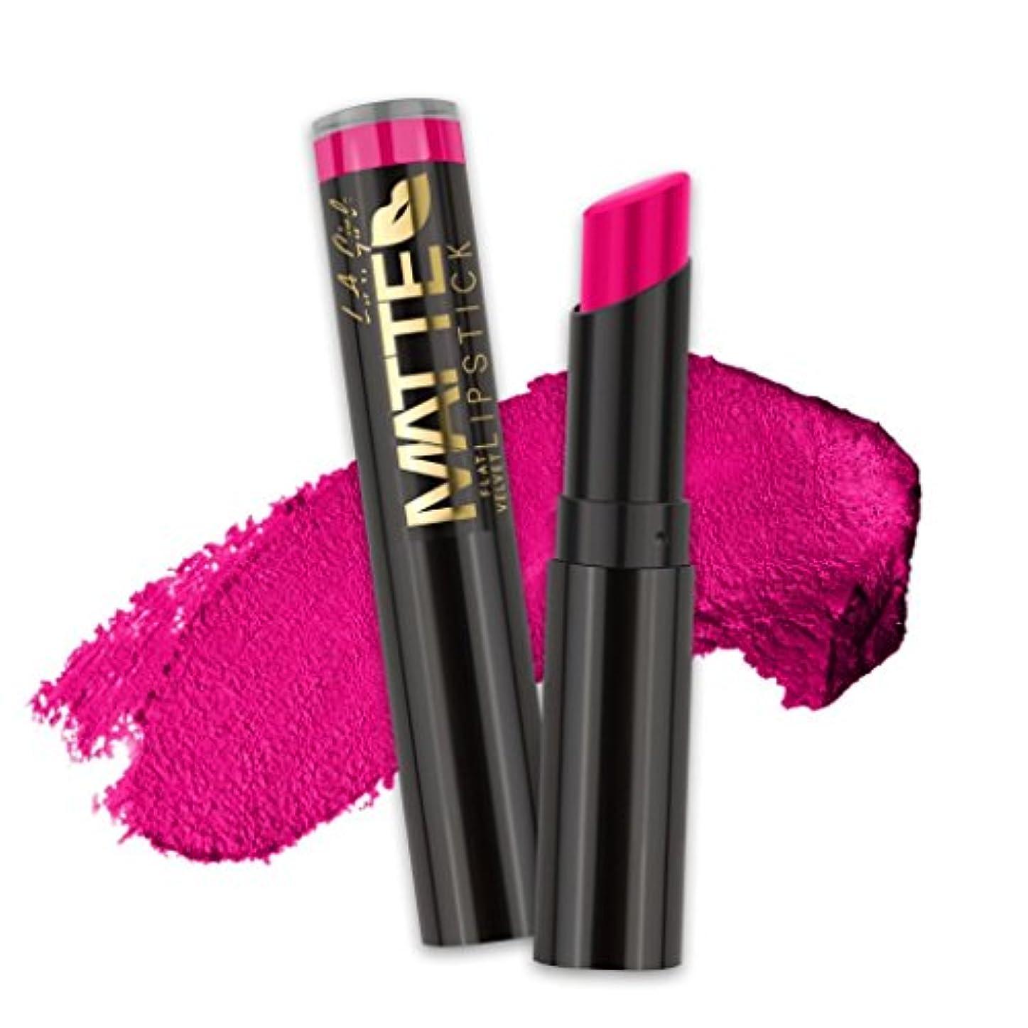 悲劇的な墓アンソロジー(6 Pack) L.A. GIRL Matte Flat Velvet Lipstick - Bliss (並行輸入品)