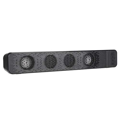 Bluetooth 4.2-luidspreker voor buiten/thuis, Surround Stereo Audio-luidspreker, Home Theatre-soundbar met subwoofer, Ondersteuning voor mobiele telefoons, tablets, laptop