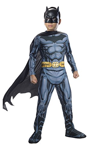 Rubies Offizielles Batman-Kostüm für Kinder, Alter 3–4 Jahre
