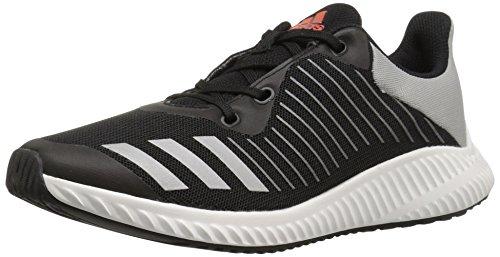 adidas Kids' Fortarun,black/Metallic/Silver/Energy,3.5 M US Big Kid