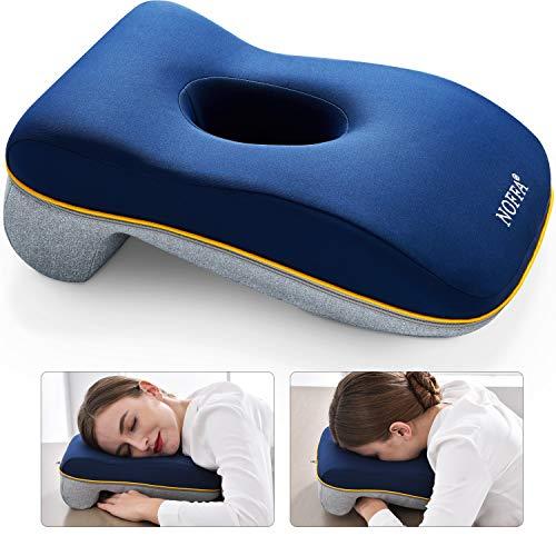 NOFFA Nickerchen Kissen für Büro und Schreibtisch | Kissen für Kopfstütze | Reisekissen | Nap Pillow,Hohles Design Hilft Beim Schlafen