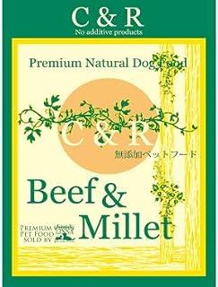 C&R ビーフ&ミレット 犬用 2ポンド(900g)×2個セット