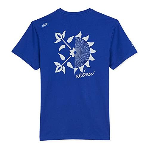 Oxbow N2TOTMA Tee Shirt Manches Courtes Graphique Homme Bleu (Electric Blue), 4XL