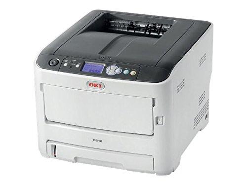 OKI Printer - Color - LED - A4-1200 x 600 dpi - up to 35 ppm (Mono) / up to 33 ppm (Color) - Capacity: 400 Sheets - USB 2.0, Gigabit LAN, USB 2.0 Host