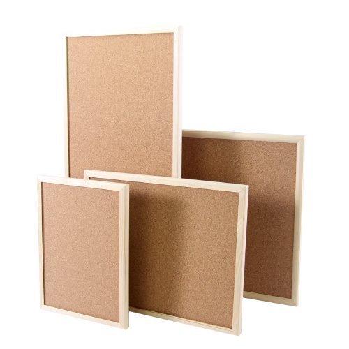Pizarra de corcho con marco de madera 50 x 90 cm – Pizarra de pared FB0436082 – Tablón de anuncios Pin Pared Memo Board corcho pared: Amazon.es: Oficina y papelería