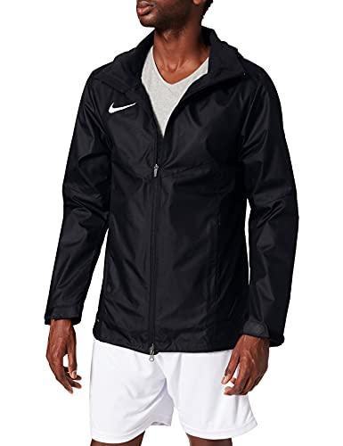 Nike Men's Academy 18 Rain Jacket (Black/White, Medium)