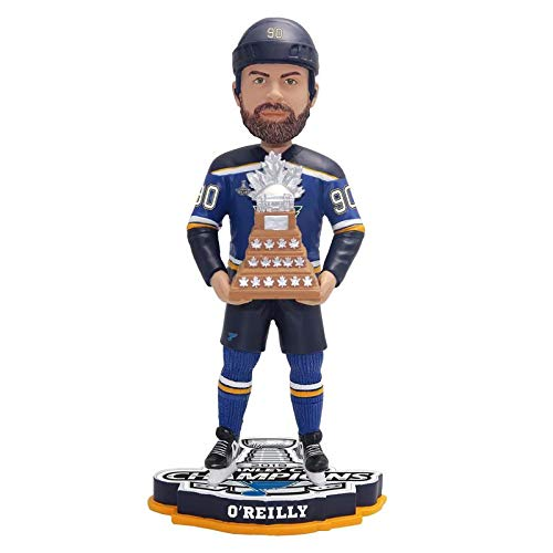 St Louis Blues NHL 2019 Stanley Cup Champions Ryan O'Reilly MVP Bobblehead