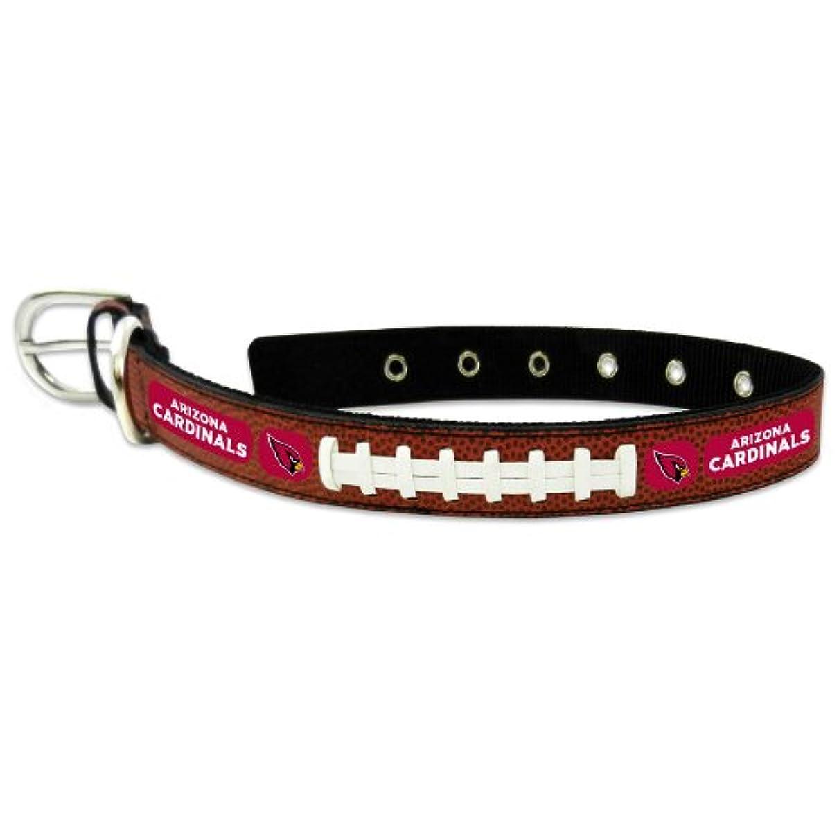 賠償呼び出す送料Arizona Cardinals Classic Leather Medium Football Collar