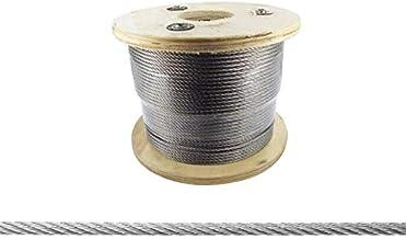 Roestvrij stalen kabel Ø 5 mm, lengte per meter 25 m