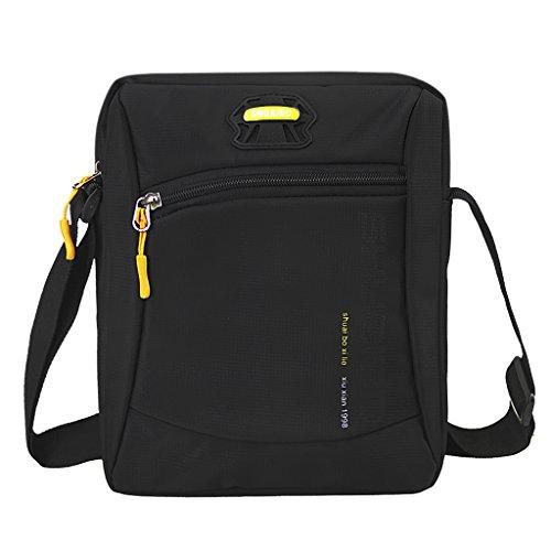 Lightweight Travel Shoulder Bag Messenger Bag for Tablet Crossbody Nylon Satchel Bag Purse Hand Free Carrying