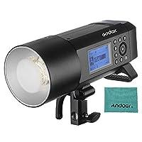 Godox WITSRO AD400Pro オールインワン アウトドア フラッシュライト スピードライト TTLオートフラッシュ GN72 1 / 8000s HSS 2.4GワイヤレスXシステム 内蔵リチウム電池 (PSE認証取得)