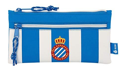 R.C.D. Espanyol Double Zipper Case (officiel), école