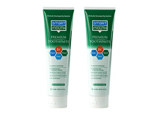 SmartMouth Premium Toothpaste for Elite Oral Health Protection, 6 oz, 2-Pack