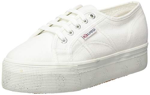 Superga 2790-COTWSTONEWASH, Sneaker Donna, Bianco (White 901), 38 EU