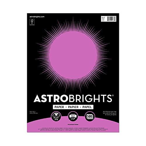 """""""Astrobrights Color Paper, 8.5″ x 11″, 24 lb/89..."""