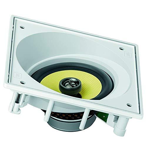 Caixa de som embutida JBL CI6S Quadrada Branca - 120W