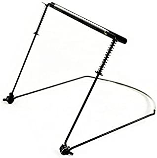 Timiy Durable Adjustable Harmonica Neck Holder Stand for 24-hole Harmonicas Black