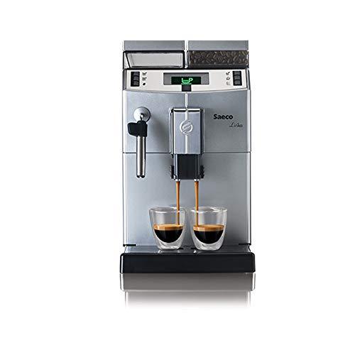 Saeco Lirika Plus Automatic Coffee Maker, Silver, 110v