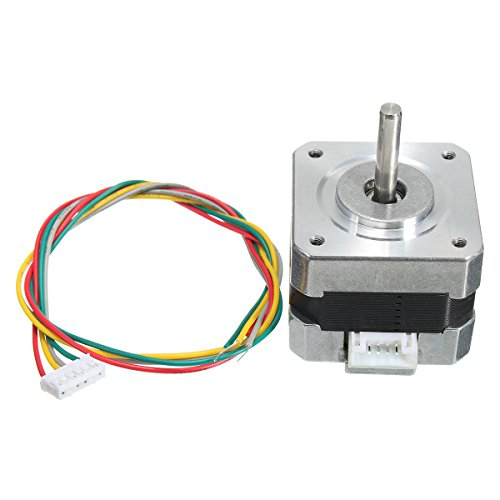 ILS stepper motor 4 leads 34 mm 12 V 0,4 A 26 Ncm 3D printer Micro stappenmotor