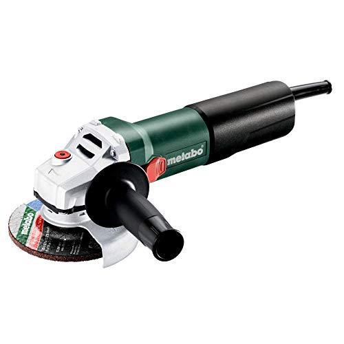 Metabo 600347000 Winkelschleifer  WEQ 1400-125 Scheiben-Ø: 125 mm, 1400 W, materialgerechte Drehzahlanpassung, Werkzeug-Schnellwechsel-Funktion