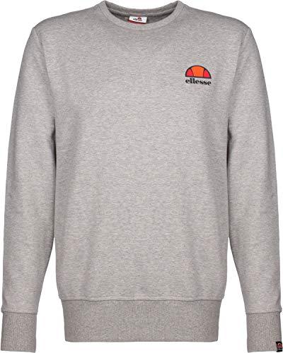 ellesse Sweater Herren Perth Sweatshirt Grau Grey Marl, Größe:XL