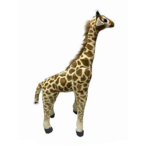 shenlanyu Stofftier Riesige Echte Leben Giraffe Plüschtiere Geburtstagsgeschenk Kinder Spielzeug Niedlich Riesengröße Plüschtiere Niedlich Kuscheltier Weiche Puppe Reallife