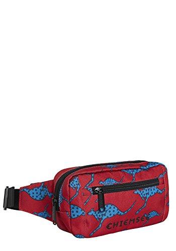 Chiemsee Bags Collection Umhängetasche, 22 cm, 2645 Dark Red/M Blue