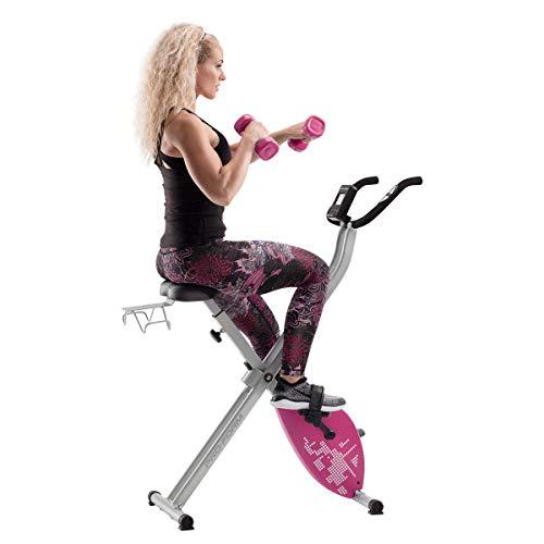CADENCE. Proform Unisex X-Bike Elite Pink, faltbar