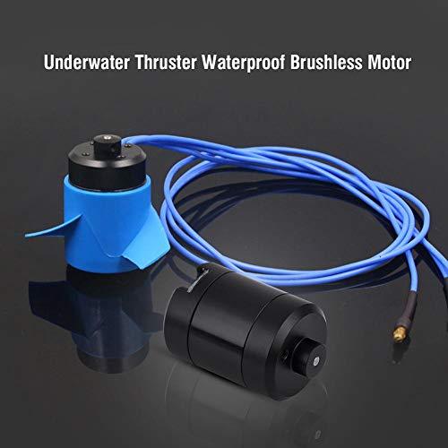 Dilwe RC Auto Brushless Motor, F2838-350KV Underwater Thruster Wasserdichter Brushless Motor für Modellflugzeug