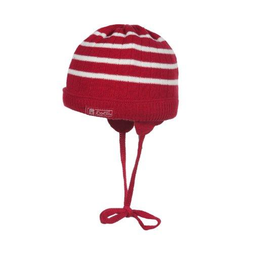 Döll Unisex - Baby Strickmütze, Gr. 49 cm (Herstellergröße: 49) Rot (lipstick red 2770)