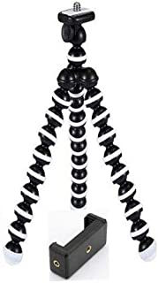 Venganza 13 inch Flexible Gorillapod Tripod with Mobile Attachment for DSLR, Action Cameras & Smartphones(Black)